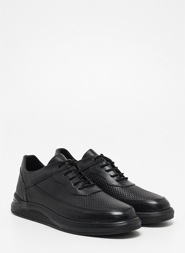 F By Fabrika Erkek Siyah Sneakers LEOTIOS Siyah